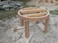 04 puhastatud vana laud soodapritsitööd