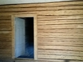 08 soodapuhastustööd palkidest sein wooden wall sodablasting